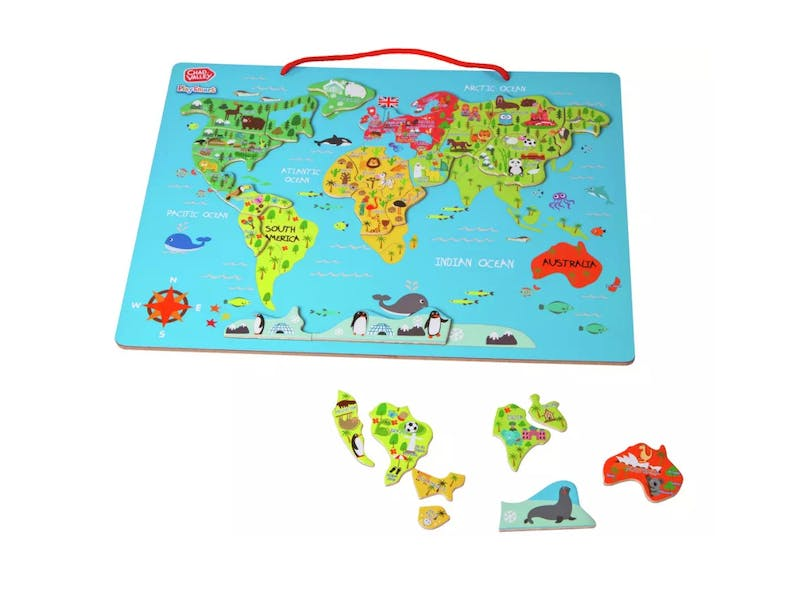 8. Magnetic World Map, £10