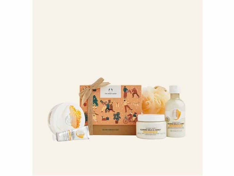 Soothing Almond Milk & Honey Big Gift Box