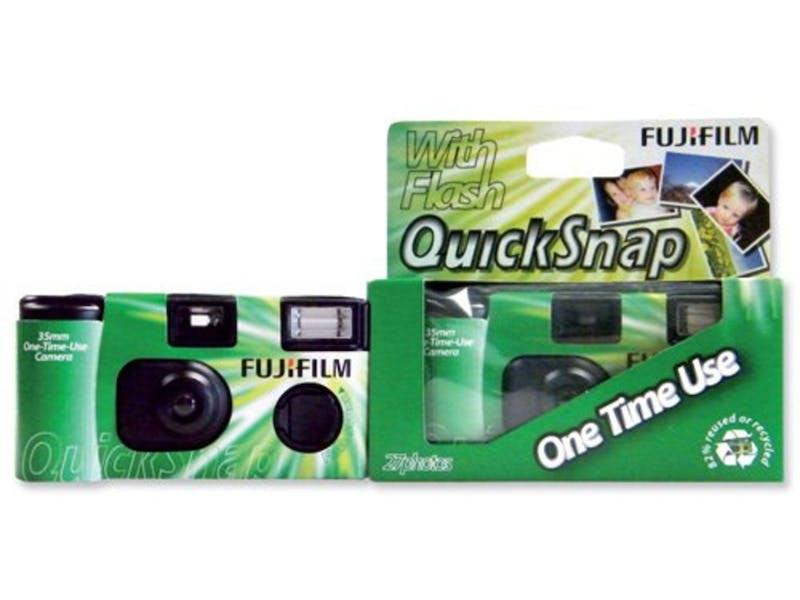 9. Disposable camera