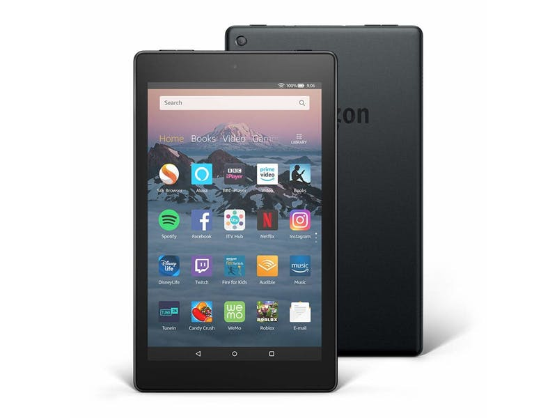 3. Fire HD 8 Tablet with Alexa, WAS, £89.99 NOW