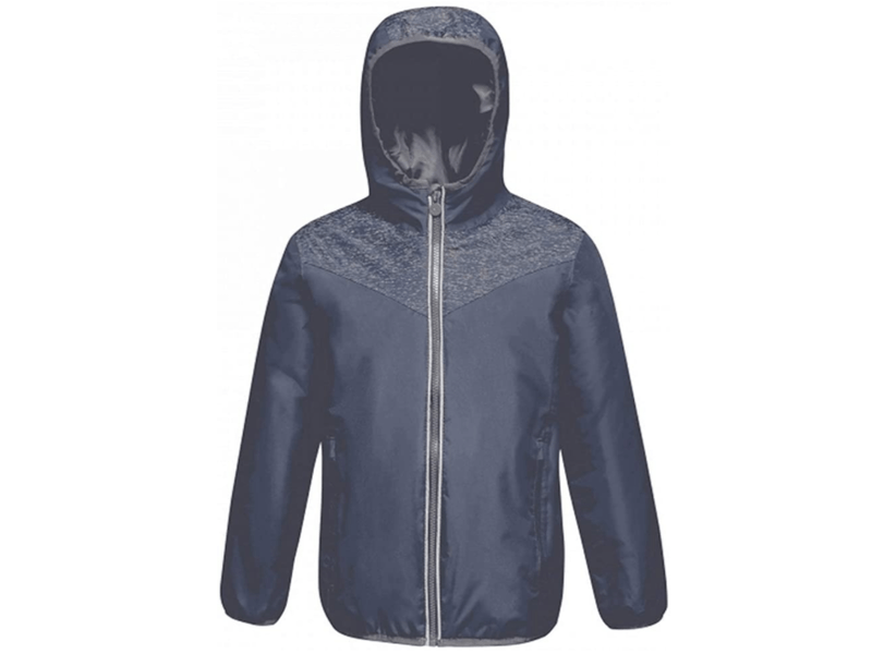 Jacket with reflective panels