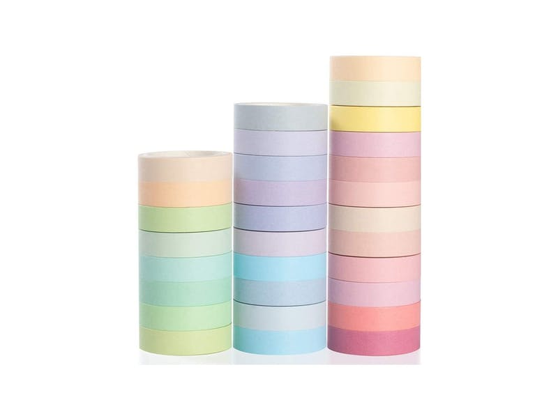 Tip 4. Use washi tape to declutter your kitchen
