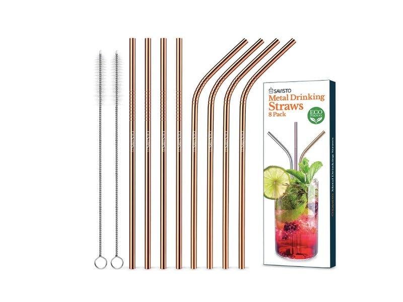 4. Say no to plastic straws