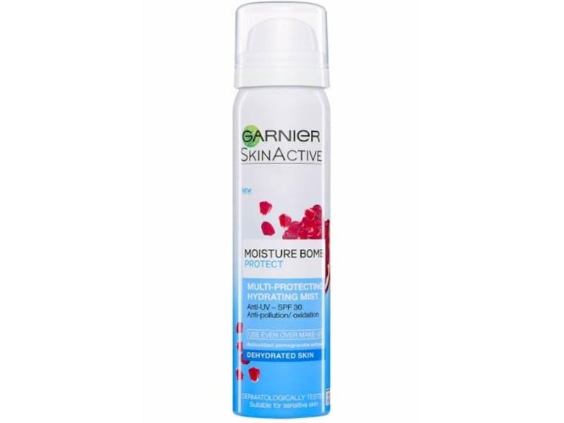 4. Garnier Moisture and Protect Face Mist SPF 30