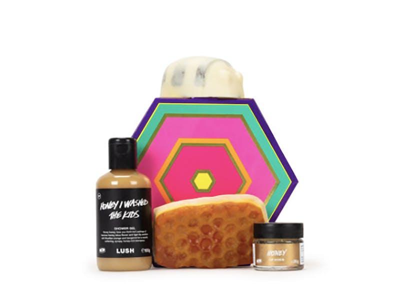 Lush honey gift box