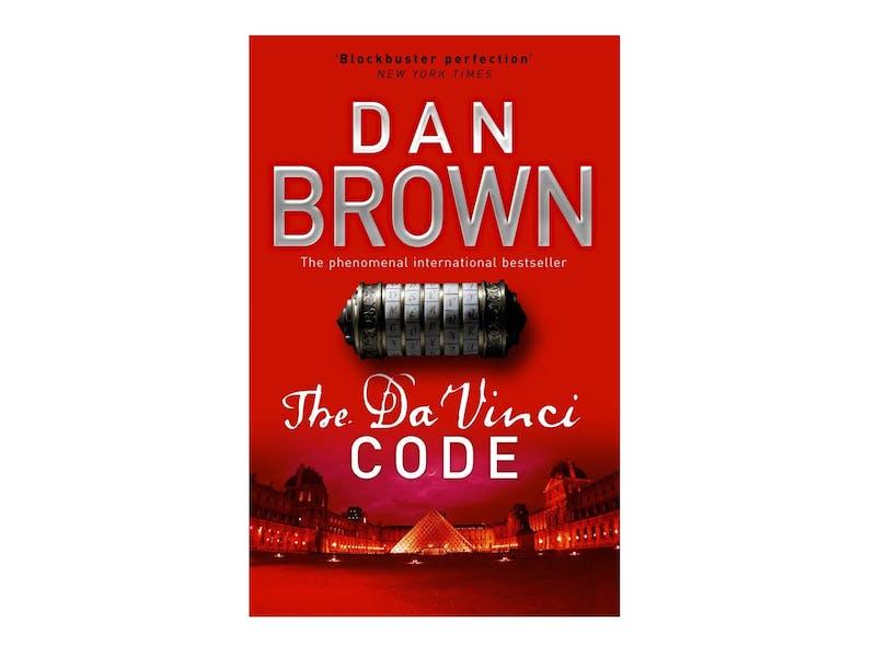 1. The Da Vinci Code by Dan Brown
