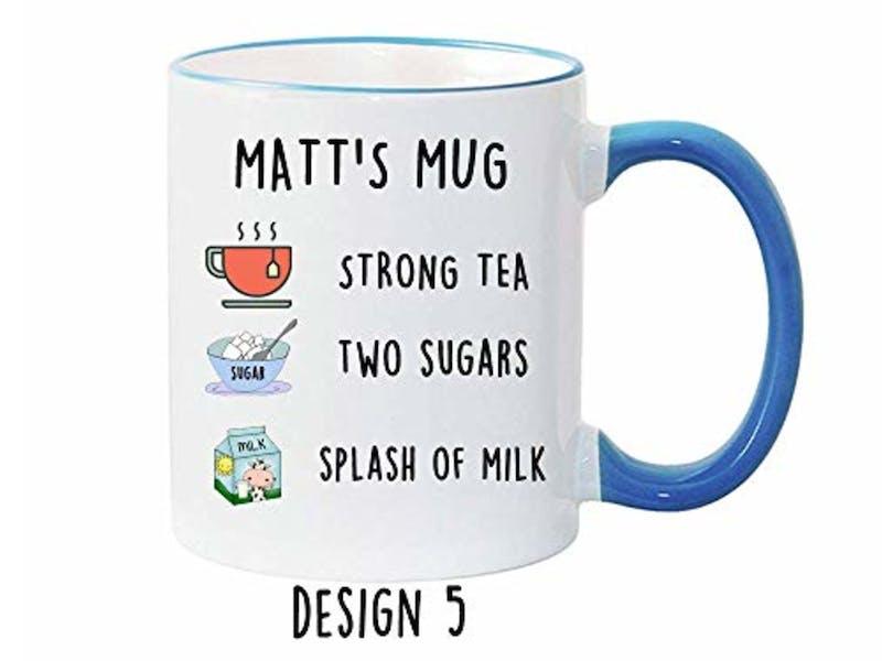 9. Personalised mug
