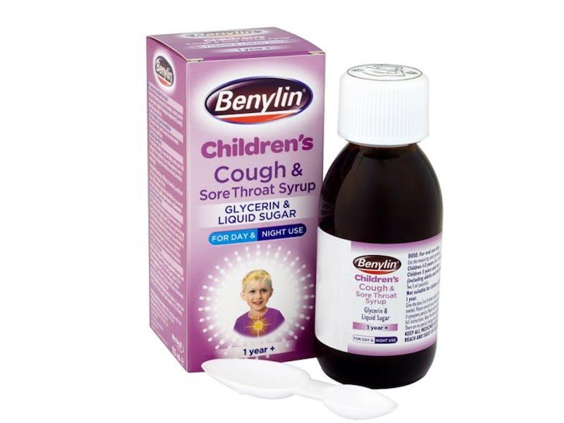3. Benylin Children's Cough & Sore Throat Syrup, £4.30