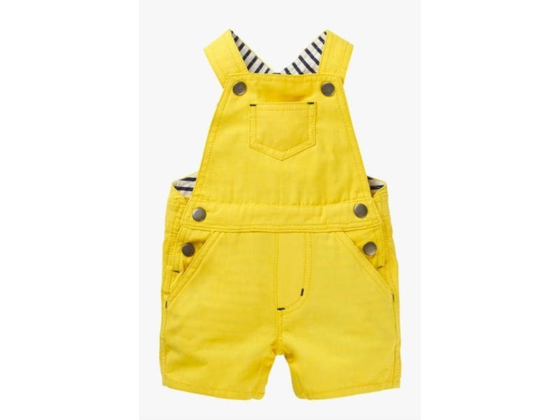 1. Mini Boden Short Dungarees, from £26