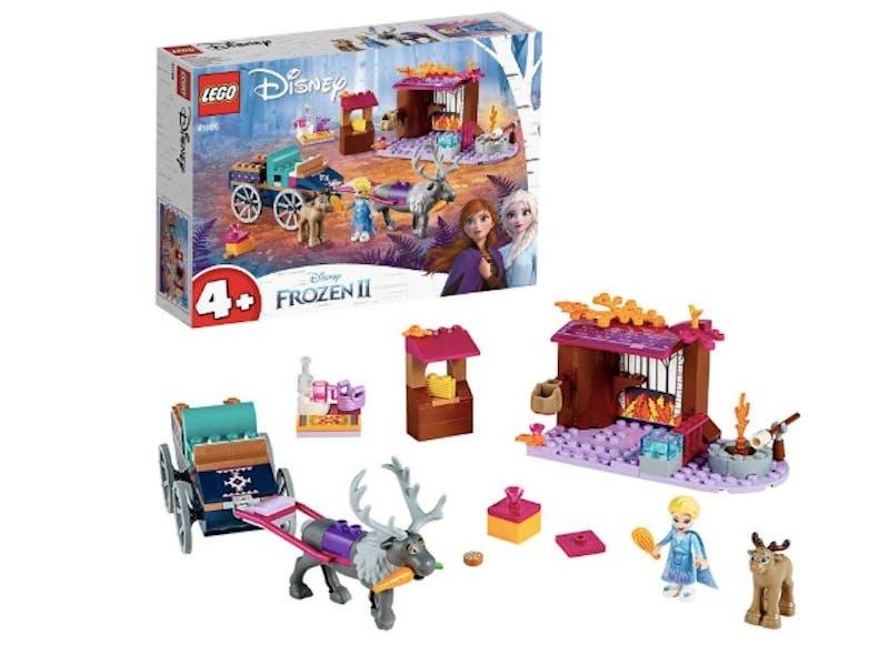1. Lego Frozen II Elsa's Wagon Adventure