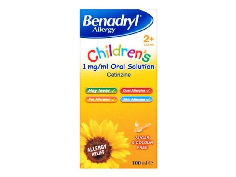 Benadryl Oral Solution