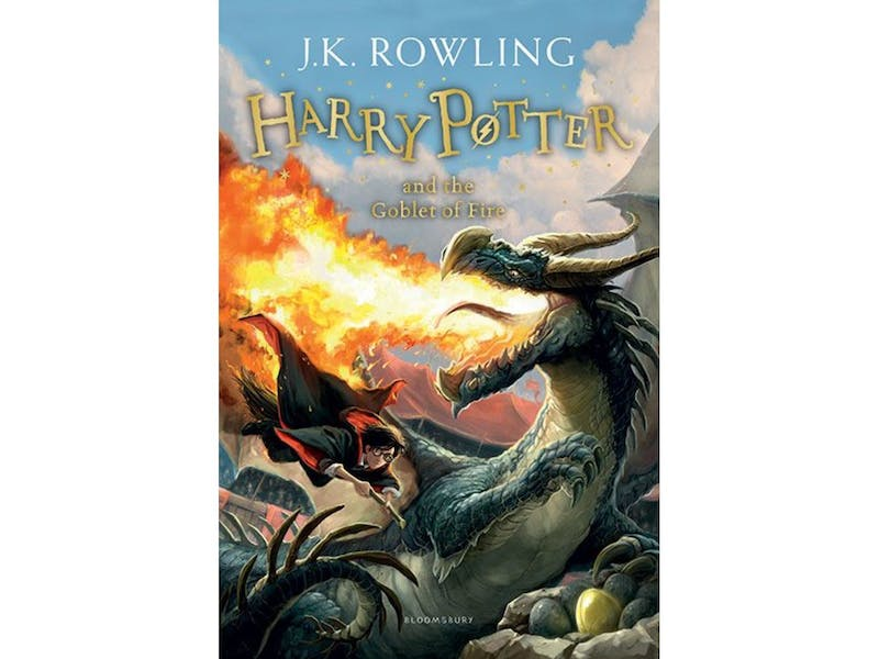 3. Harry Potter and the Goblet of Fire by J.K. Rowling