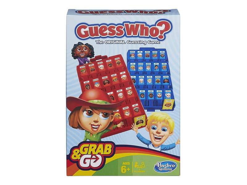Guess Who? Grab and Go Game