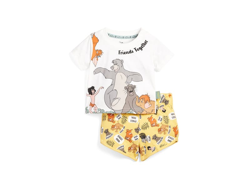 9. Jungle Book T-Shirt And Shorts Set, £8
