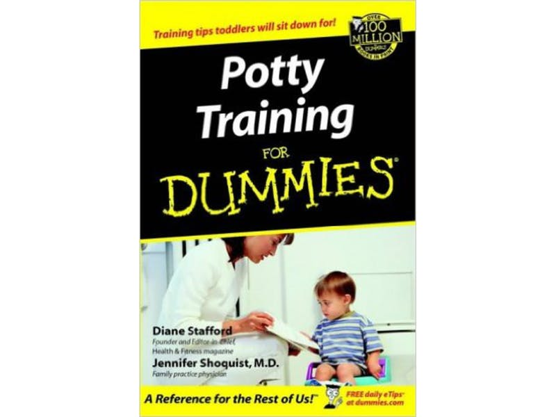 4. Potty Training for Dummies by Diane Stafford and Jennifer Shoquist