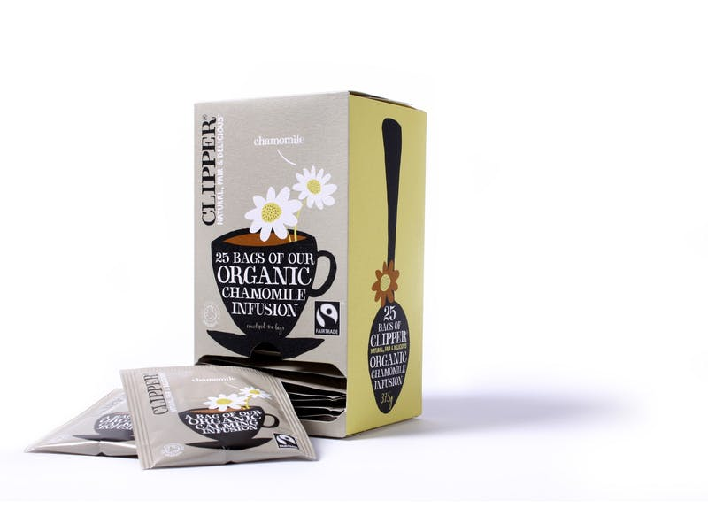 1. Clipper Organic Infusion Chamomile Tea (six-pack), £10.14