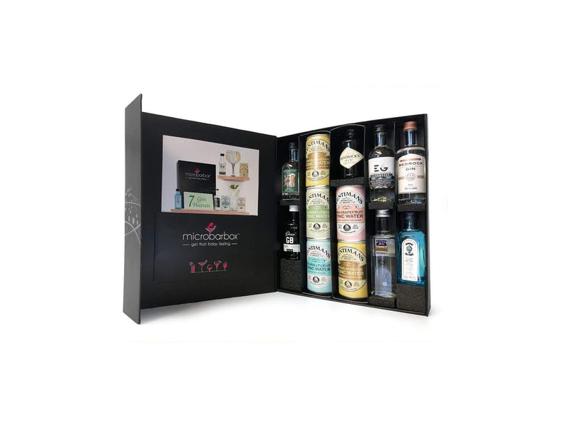 1. MicroBarBox Gin Cocktail Kit Gift Set