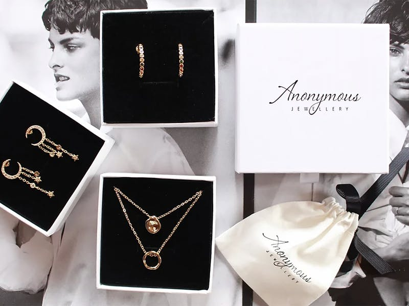 Anonymous jewellery subscription