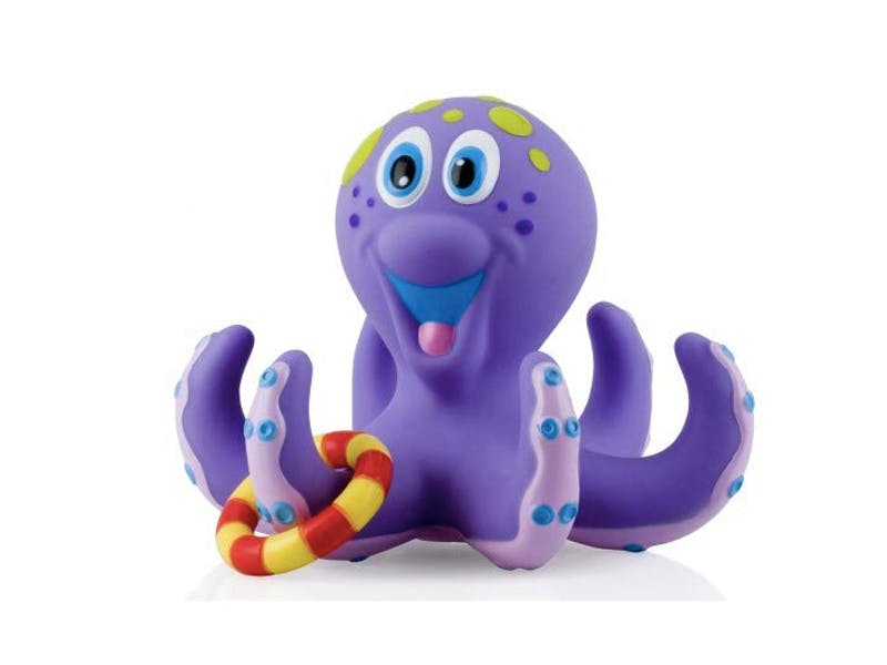 1. Octopus Floating Bath Toy