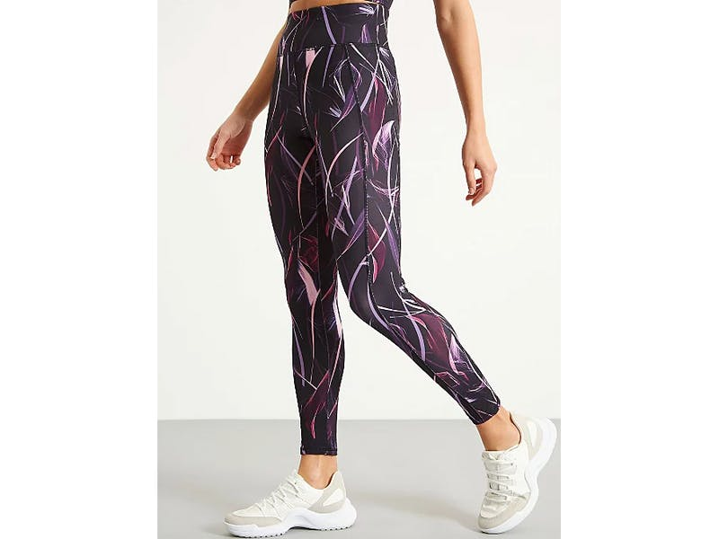 1. Pink Abstract Floral Print Leggings, £12.00