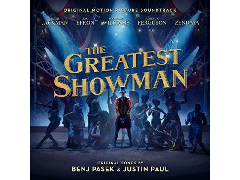 10. The Greatest Showman Soundtrack