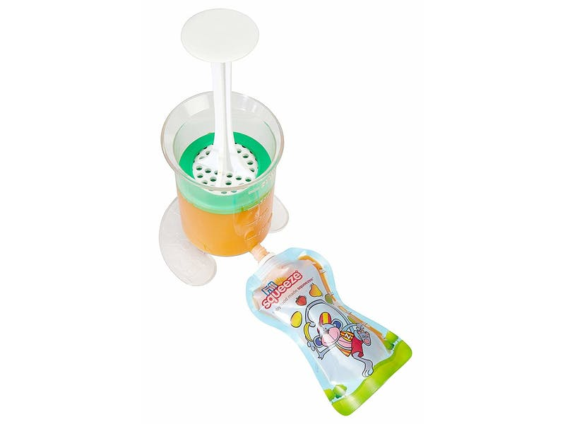 6. Fill 'n' Squeeze Baby Weaning Pouch System