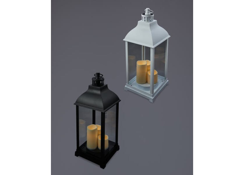 Solar Trio Candle Lanterns