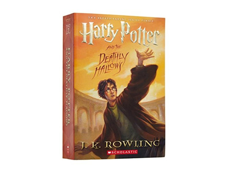 2. Harry Potter and the Deathly Hallows by J.K. Rowling