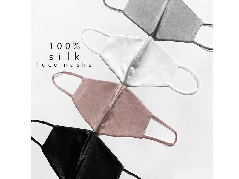 Silk Face Mask Set