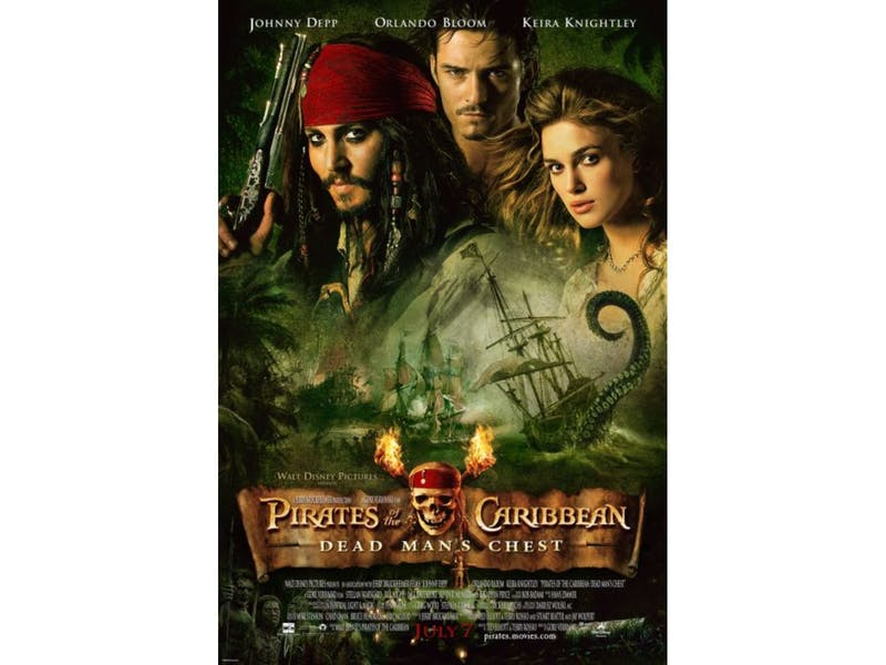 17. Pirates of the Caribbean: Dead Man's Chest