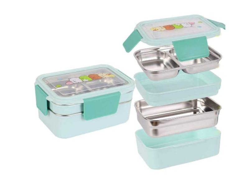 6. Kids Lunch Box (two-tier)