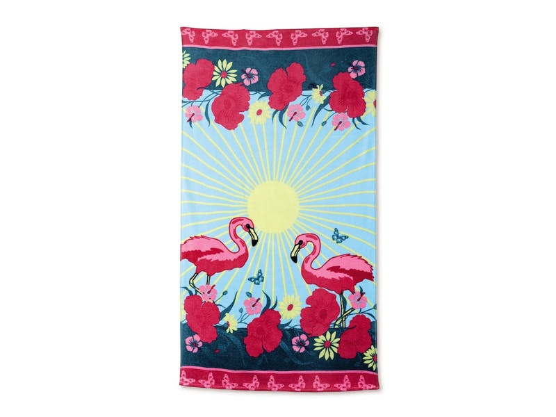 flamingo-beach-towel
