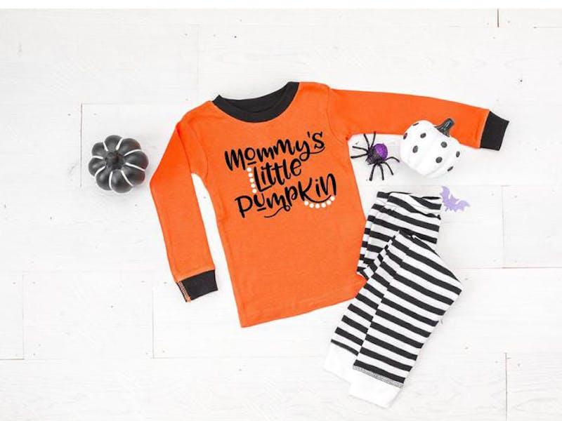 Mommy's Little Pumpkin Pyjamas