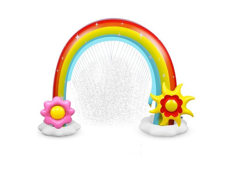 Inflatable Rainbow Sprinkler Toy