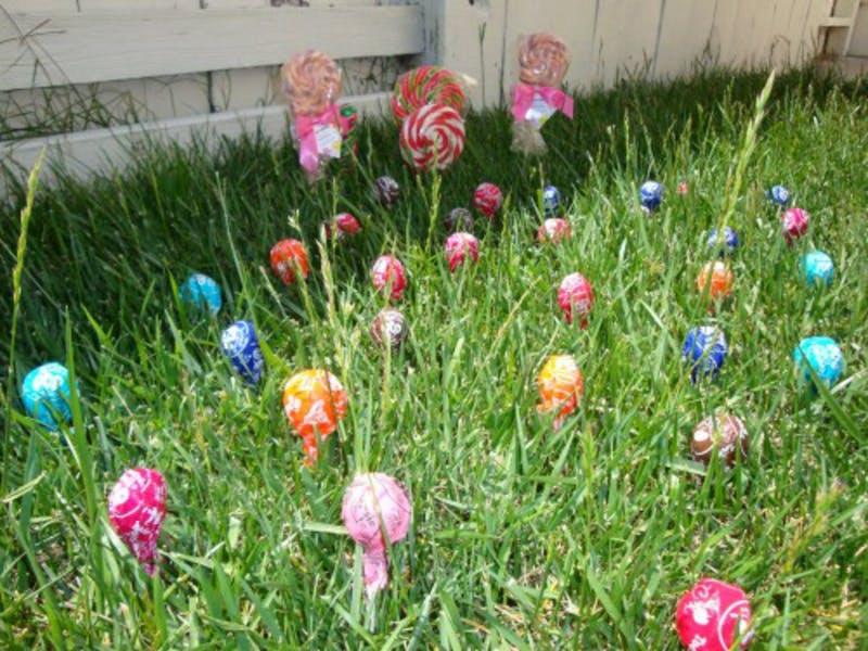 3. Lollipop garden