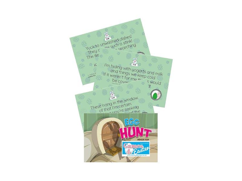 1. Easter Hunt Clue Cards