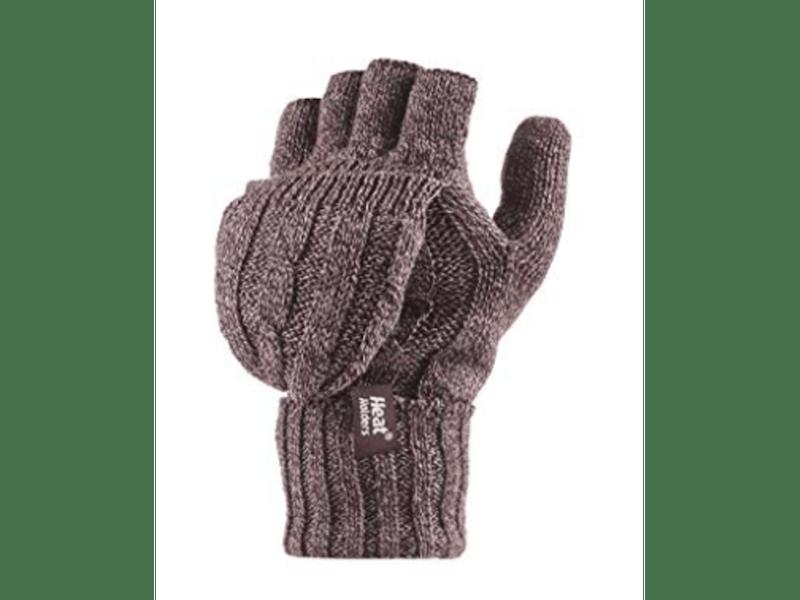 5. Fingerless convertible thermal gloves