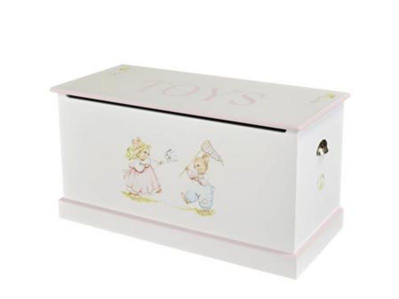 11. Wooden Toybox