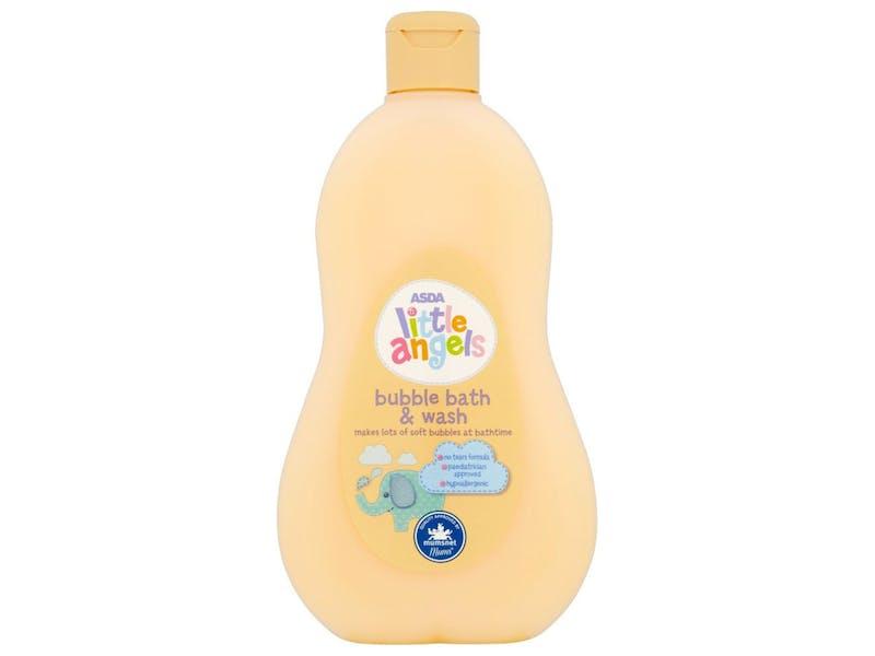 1.Little Angels Bubble Bath and Wash