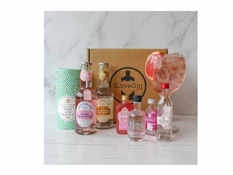 The Pink Gins, Tonics And Truffles Gift Set