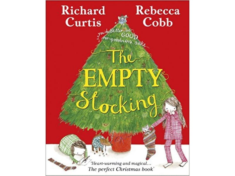 18. The Empty Stocking by Richard Curtis & Rebecca Cobb, £2.63