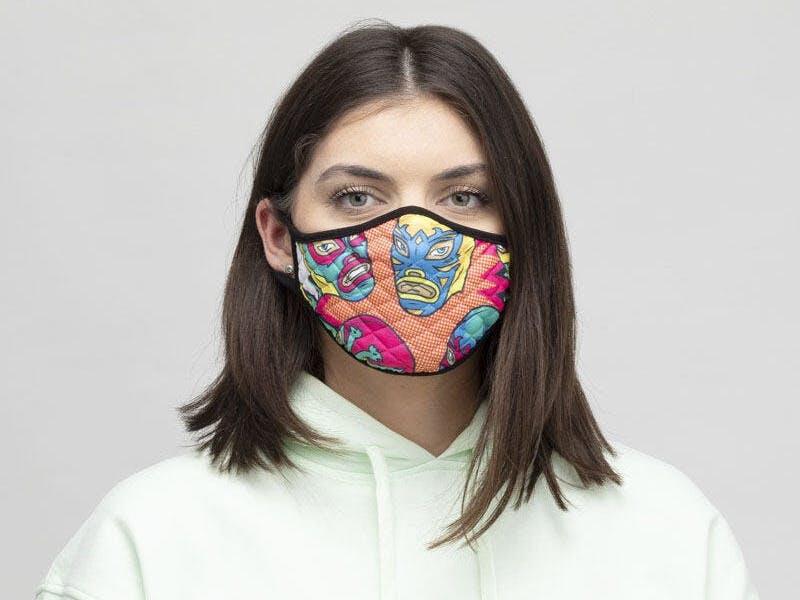 8. Custom Face Masks (four-pack), £20