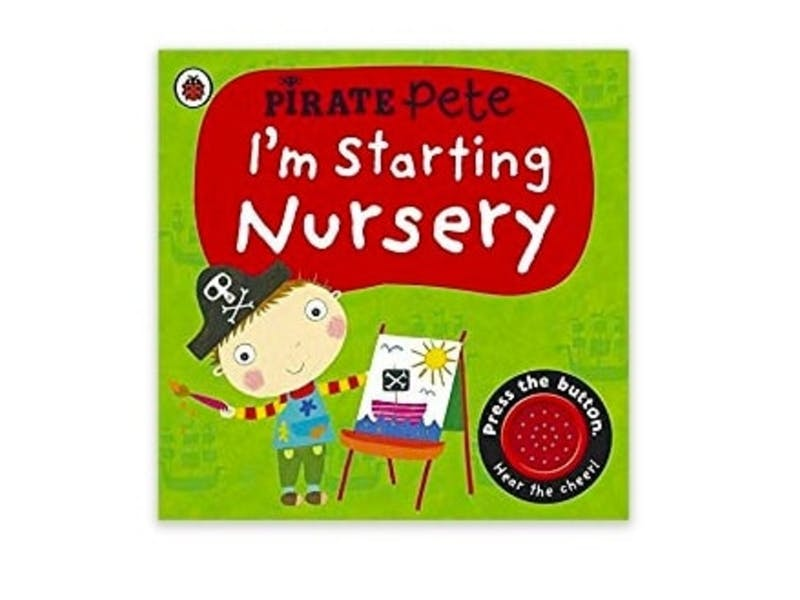 7. I'm Starting Nursery, £6.99