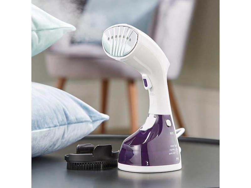 White & Purple Garment Steamer