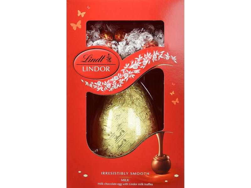 2. Lindt milk chocolate Easter egg with truffles