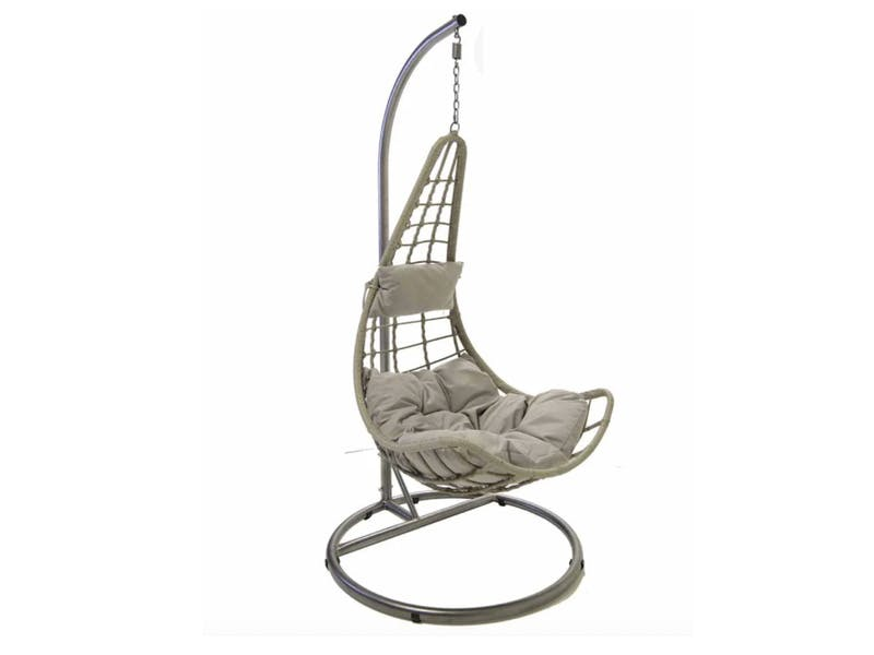 Charles Bentley Rattan Garden Swing Chair