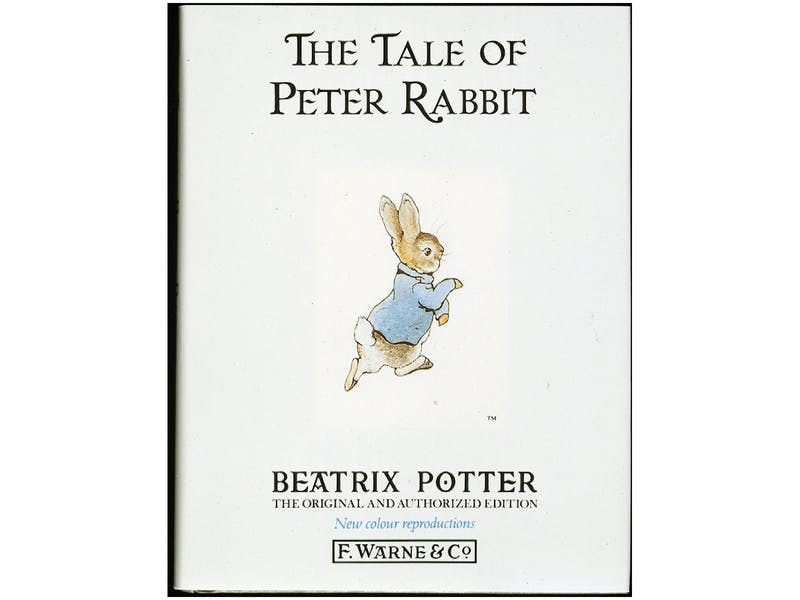 8. The Tale of Peter Rabbit by Beatrix Potter