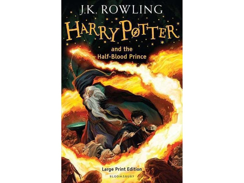 5. Harry Potter and the Half Blood Prince by J.K. Rowling