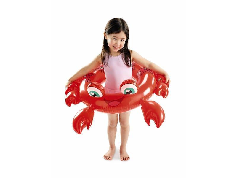 1. Crab swimming ring