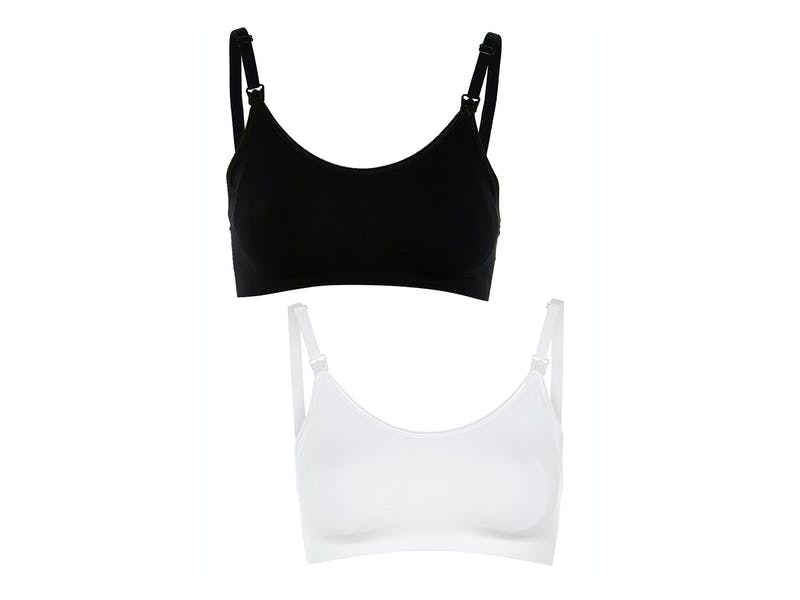 Maternity Black and White Bras 2 Pack